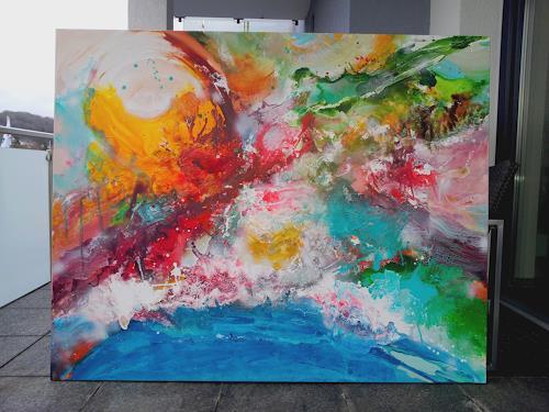 Silke Brandenstein, ICH BIN, Glauben, Abstrakter Expressionismus