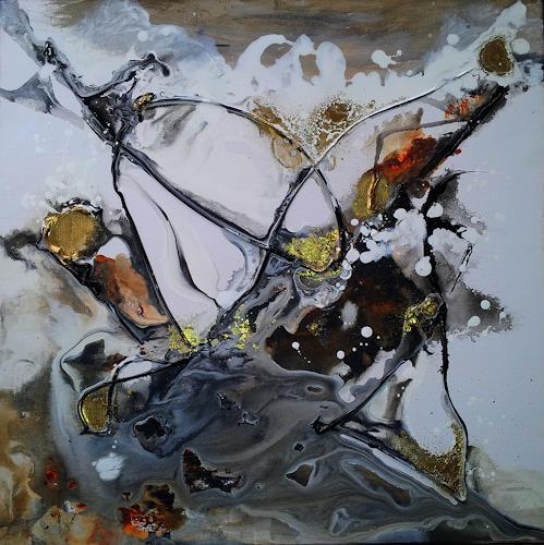 Silke Brandenstein, Alles, was zählt..., Symbol, Glauben, Abstrakte Kunst, Abstrakter Expressionismus