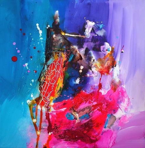 Silke Brandenstein, Du kannst zaubern!, Symbol, Glauben, Abstrakter Expressionismus