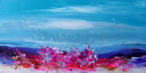 Silke Brandenstein, Happy End, Symbol, Abstrakter Expressionismus, Expressionismus