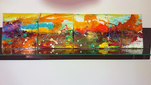Silke Brandenstein, Wunderland Serie Teil 2, Fantasie, Abstrakter Expressionismus