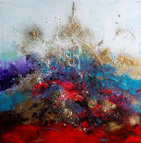Silke Brandenstein, Glauben und Mut, Diverse Gefühle, Glauben, Abstrakter Expressionismus