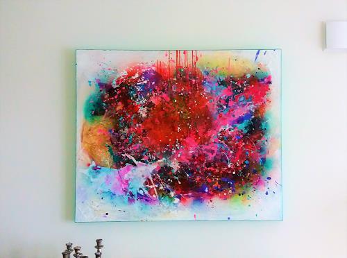 Silke Brandenstein, Attitude, Gefühle: Liebe, Fantasie, Action Painting
