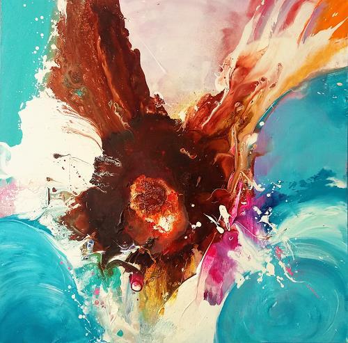 Silke Brandenstein, DAS KANN UNS KEINER NEHMEN!, Symbol, Glauben, Abstrakte Kunst, Abstrakter Expressionismus