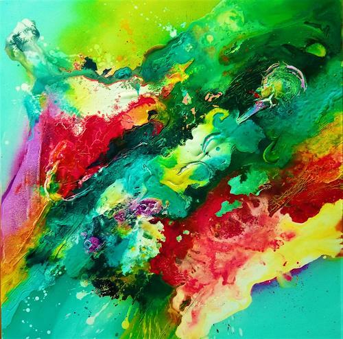 Silke Brandenstein, FARBGEIST, Fantasie, Bewegung, Abstrakter Expressionismus