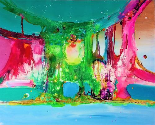 Silke Brandenstein, True colors, Fantasie, Gefühle: Freude, Abstrakter Expressionismus