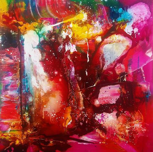Silke Brandenstein, Reich der Träume, Fantasie, Abstrakter Expressionismus