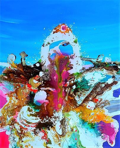 Silke Brandenstein, KNOCKIN ON HEAVENS DOOR, Diverse Musik, Fantasie, Konkrete Kunst, Abstrakter Expressionismus