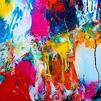 Silke-Brandenstein-Fantasie-Abstraktes-Moderne-Expressionismus-Abstrakter-Expressionismus
