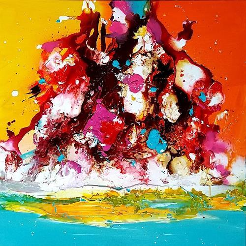 Silke Brandenstein, Du bist am Leben, Gefühle: Freude, Abstrakter Expressionismus