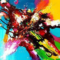 Silke-Brandenstein-Bewegung-Fantasie-Moderne-Expressionismus-Abstrakter-Expressionismus
