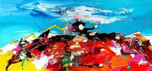 Silke Brandenstein, CALYPSO, Fantasie, Bewegung, Abstrakter Expressionismus