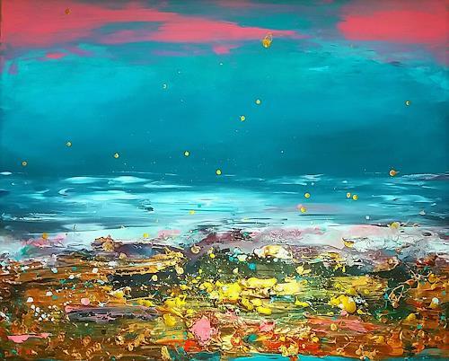 Silke Brandenstein, Shallow, Gefühle: Liebe, Gefühle: Trauer, Abstrakter Expressionismus, Expressionismus