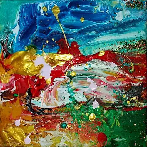 Silke Brandenstein, Mini Joy, Fantasie, Abstrakter Expressionismus