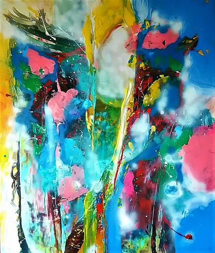 Silke Brandenstein, YOK YOK, Fantasie, Abstrakter Expressionismus, Expressionismus
