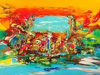 Joy-Silke-Brandenstein-Fantasie-Bewegung-Moderne-Expressionismus-Abstrakter-Expressionismus
