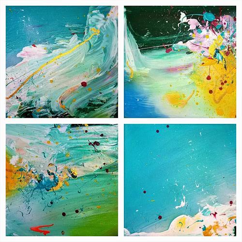 Silke Brandenstein, Mini Joy, Fantasie, Abstrakter Expressionismus, Expressionismus