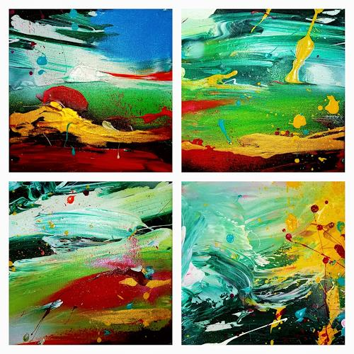 Joy Silke Brandenstein, Mini Joy, Fantasie, Abstrakter Expressionismus
