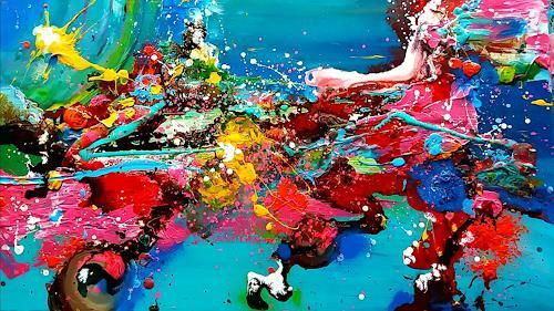 Silke Brandenstein, Siempre nuevo, Fantasie, Neuzeit, Abstrakter Expressionismus