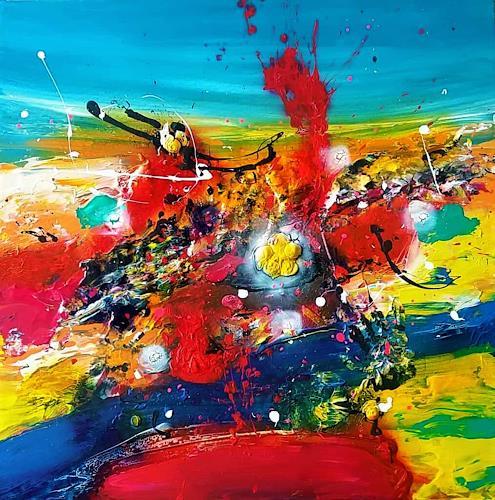 Silke Brandenstein, Wenn nicht jetzt..., Fantasie, Abstrakter Expressionismus