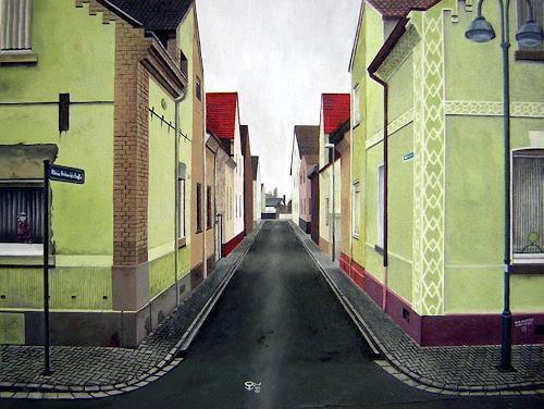 Niklas Hughes, Amok - Koma, Industrie, Realismus, Abstrakter Expressionismus