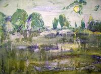S. Hagemann, Landschaft am Fluß
