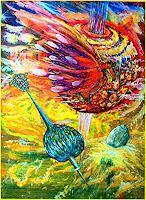 regibarg-Bewegung-Weltraum-Gestirne-Gegenwartskunst--Postsurrealismus