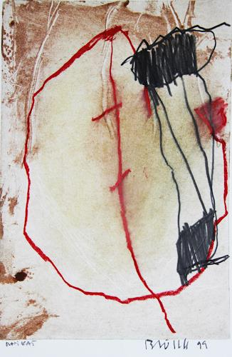 Rolf Blösch, O.T., Abstraktes, Expressionismus