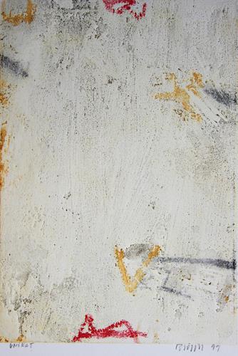 Rolf Blösch, 0.T., Abstraktes