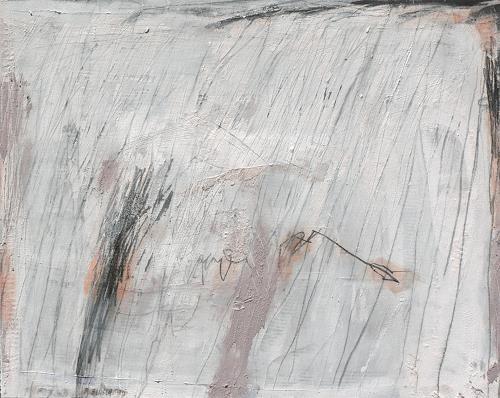 Rolf Blösch, Haus im Schnee, Abstraktes