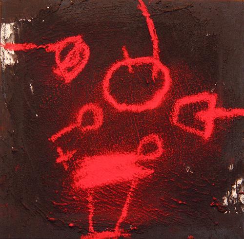Rolf Blösch, o.t., Poesie, Abstrakter Expressionismus