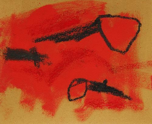 Rolf Blösch, 0.t., Abstraktes, Poesie