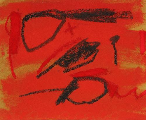 Rolf Blösch, o.t., Abstraktes, Poesie