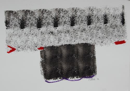 Rolf Blösch, O.T., Abstraktes, Informel