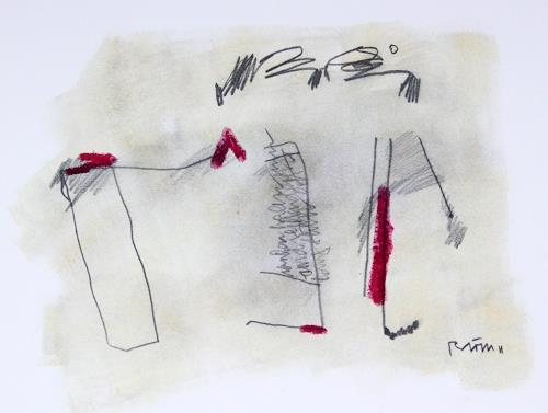 Rolf Blösch, O.T., Abstraktes, Abstraktes, Informel