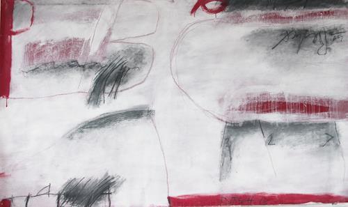 Rolf Blösch, o.T., Abstraktes, Diverse Romantik, Informel