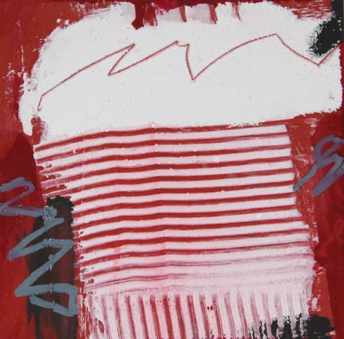 Rolf Blösch, 0.T., Abstraktes, Landschaft: Winter, Informel