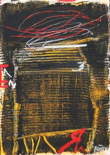 Rolf Blösch, o.T., Abstraktes, Diverses, Gegenwartskunst