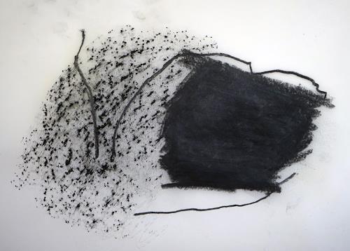 Rolf Blösch, O.T., Wohnen, Arbeitswelt, Gegenwartskunst, Abstrakter Expressionismus