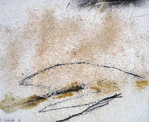 Rolf Blösch, O.T., Poesie, Natur: Luft, Informel, Expressionismus