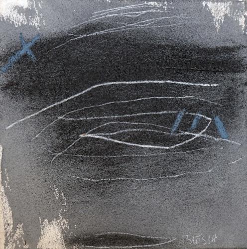 Rolf Blösch, O.T., Poesie, Geschichte, Gegenwartskunst, Abstrakter Expressionismus