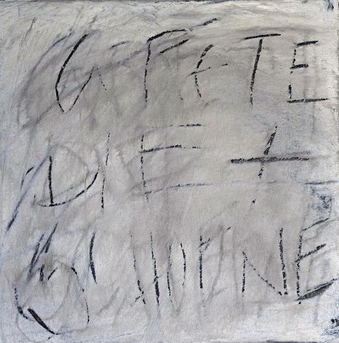 Rolf Blösch, Grete 2, Poesie, Abstraktes, Gegenwartskunst