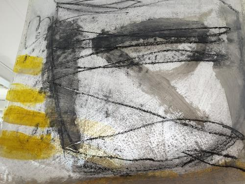 Rolf Blösch, OT, Abstraktes, Poesie, Informel, Expressionismus