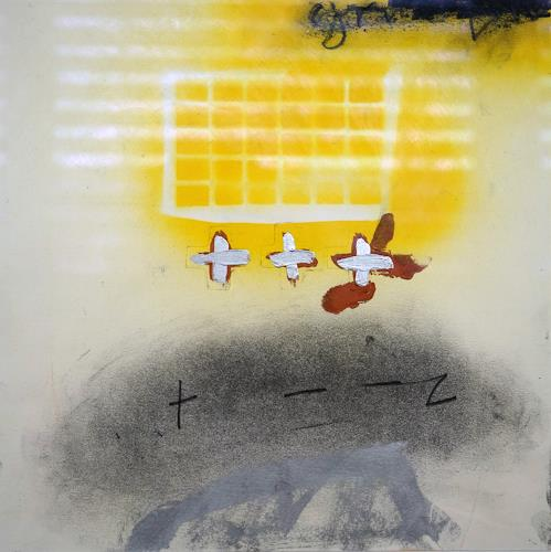 Rolf Blösch, ot., Abstraktes, Gefühle, Informel