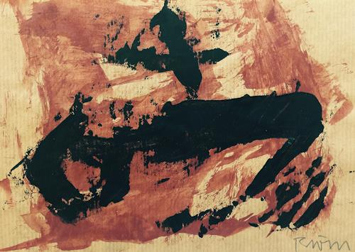 Rolf Blösch, OT, Abstraktes, Gefühle, Abstrakte Kunst