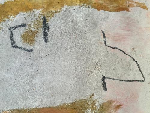 Rolf Blösch, alles offen, Fantasie, Abstraktes, Informel