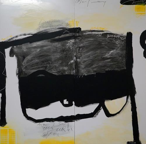 Rolf Blösch, OT, Fantasie, Abstraktes, Informel