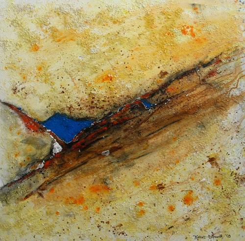 Detlev Eilhardt, Ein Stück Himmel, Abstraktes, Glauben, Abstrakter Expressionismus
