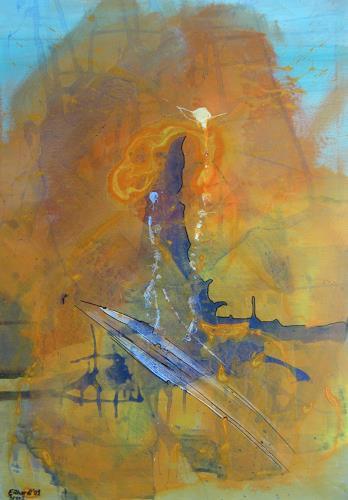 Detlev Eilhardt, Rostkarussell, Abstraktes, Diverses, Abstrakter Expressionismus