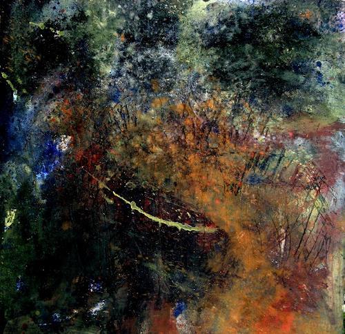 Detlev Eilhardt, Von innen nach außen, Abstraktes, Bewegung, Abstrakter Expressionismus